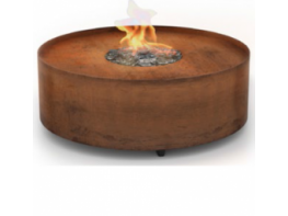 GaLiO Fire Pit Corten - Gas Line Outdoor